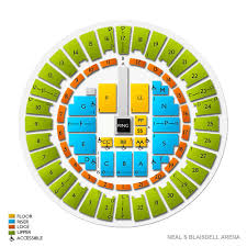 Neal Blaisdell Arena Seating Chart Neal S Blaisdell Arena Tickets
