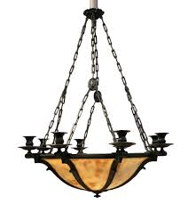 alabaster chandelier neo classique style beginning 20th century