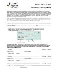How To Fill Out Direct Deposit Form Direct Deposit Setup Form Under Fontanacountryinn Com