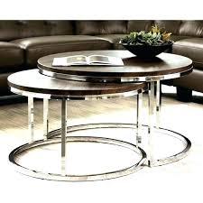chrome round coffee table chrome round coffee table cocktail table sets lovable round coffee table sets