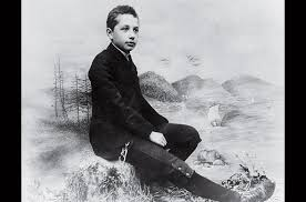 the lighter side of albert einstein photo essays time this photo was taken in a munich photo studio c 1893 shortly before einstein