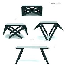 coffee table converts to dining convertible room