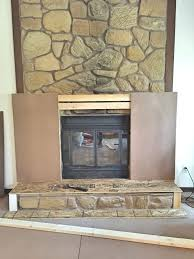 One Room Challenge Spring 2016, ORC, Rental Approved DIY, Faux Fireplace  Facade,