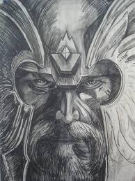 Viking God 1 Study By Wildatart24 On Deviantart татухи