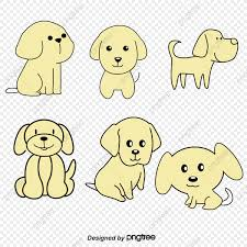 Dog Vector Design Hand Painted Design Pet Dog Vector Material Pet Vector Dog