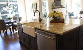 Kitchen Beautiful Kitchen Island With Sink For Sale Curved