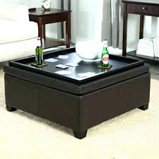 leather storage ottoman coffee table black leather storage ottoman center table with fabric coffee square tray white leather storage ottoman coffee table