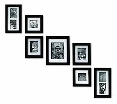 picture frames on staircase wall. Image Is Loading Set-7-Black-Wooden-Picture-Photo-Frames-Frame- Picture Frames On Staircase Wall E