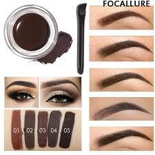whole professional eye brow tint makeup tool kit waterproof high brow pigment black brown henna eyebrow gel with brow brush eyebrow filler eyebrow