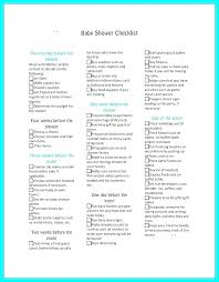 Printable Baby Registry Checklist Complete Shower List