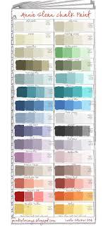 Porters Chalk Paint Colour Chart Rachel Carlton Rachelmariec96 On Pinterest