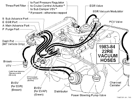 toyota tech info 22re wiring harness routing at 22re Engine Wiring Harness Diagram
