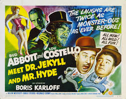 Image result for images of abbott and costello meet dr jekyll and mr hyde