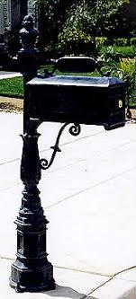 cast aluminum mailbox. Fine Aluminum Cast Aluminum Mailbox Intended O