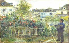 auguste renoir monet painting in his