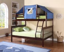 Tent furniture Sofa Bunkbed Brooks Collier Bunkbed Tent Kit blue 755eb Bunk Beds Gr8 Furniture And
