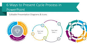 Arrow Ring Chart Powerpoint 6 Modern Ways To Present A Cycle Process In Powerpoint