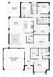 bedroom modern farmhouse plans single story french country