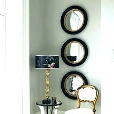 3 piece starburst small decorative wall mirrors set of three mirror sets round for walls best