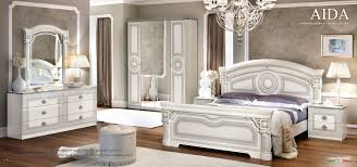 Silver Bedroom Furniture Aida White W Silver Camelgroup Italy Classic Bedrooms Bedroom