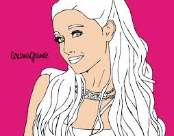 Small Picture ariana grande with necklace users coloring pages 85570jpg 600