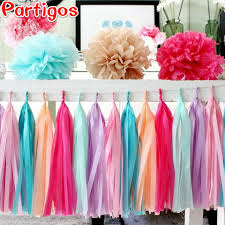 2019 or diy tissue paper tassel garland wedding decoration event party supplies home garden birthday party decoration from hariold 25 33 dhgate com