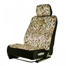 ducks unlimited universal fit bucket seat cover neoprene shadow grass blades camo qty 1 spg seat covers spgdsc7002