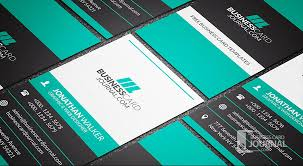 Free Bold Contrasting Vertical Business Card Template