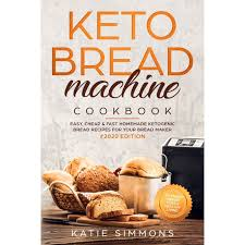 This is by far the best recipe i have tried. Keto Bread Machine Cookbook 2020 Easy Cheap Fast Homemade Ketogenic Bread Recipes For Your Bread Maker Intensify Weight Loss Healthy Living Paperback Walmart Com Walmart Com