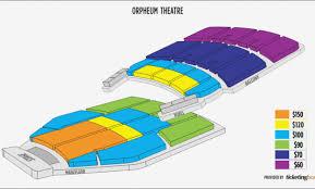 Theatre Memphis Seating Chart Orpheum Theatre Memphis
