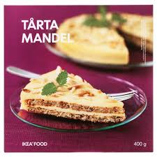 Almond Cake Frozen Swedish Food Market Ikea Swedish Food Market
