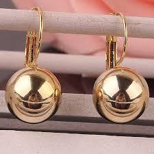 2019 <b>Fashion Jewelry Gold color</b> Earring For Women Austrian ...