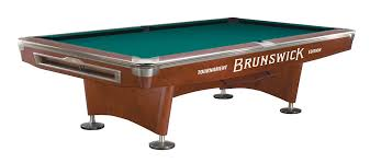 brunswick table pool gold crown v mahagony 9ft tournament edition