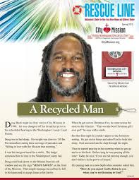 A Recycled Man - Washington City Mission