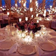 a pretty round table setting wedding themes ideas