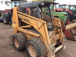 1996 case 1845c skid steer loader