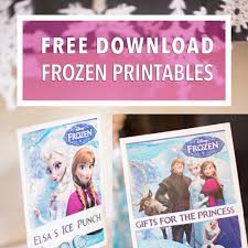 Free Downloads Frozen Birthday Party Signs Banners