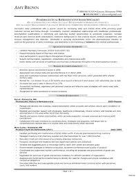 Pharma Sales Resume Examples Retail Sales Representative Sample