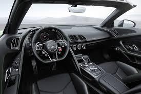 audi r8 matte black interior. audi r8 spyder v10 plus interior matte black