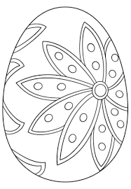 Fancy Easter Egg Coloring Page Free Printable Coloring Pages Color