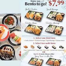 These 🍱 bento sets from Genki Sushi... - Kapolei Commons (Kapolei, Hawaii)