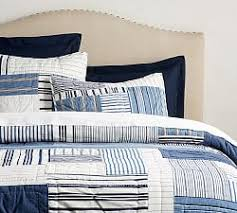 Quilts | Pottery Barn & Finch Patchwork Yarn Dyed Quilt ... Adamdwight.com