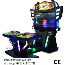 2 players amusement tekken 3d street fighter arcade games machines