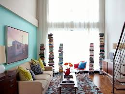 Incredible Living Room Ideas For Small Spaces Colorful Clever Small Spaces  From Hgtv Interior Design Styles