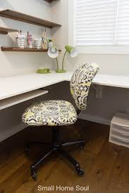 office chair makeover. Office Chair Makeover Finished And Looking Lovely.