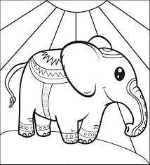 Elephants Coloring Pages Elephant Coloring Page For Adults Cute