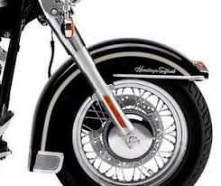 harley davidson 100th anniversary softail front fender decals