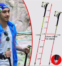 PIONEER Trekking <b>Walking Sticks</b> Poles Carbon Fiber <b>Ultralight</b> ...