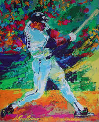 bo jackson k c royals all star by leroy neiman offset lithograph vintage fine