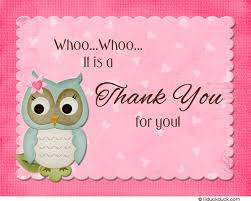 Thank You Poem From Baby  Cutest Baby Shower IdeasOwl Baby Shower Thank You Cards